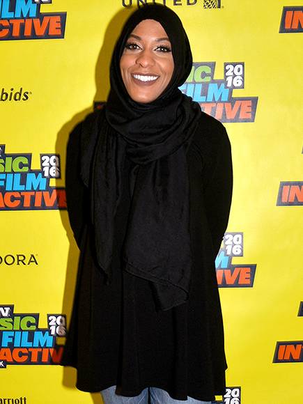 Ibtihaj Muhammad at the South by Southwest Festival in Austin, Texas, on March 12, 2016 AMY E. PRICE/GETTY